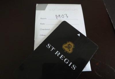 セントレジス・シンガポール5