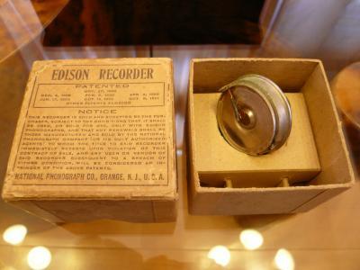 エジソン・レコーダー(録音装置)