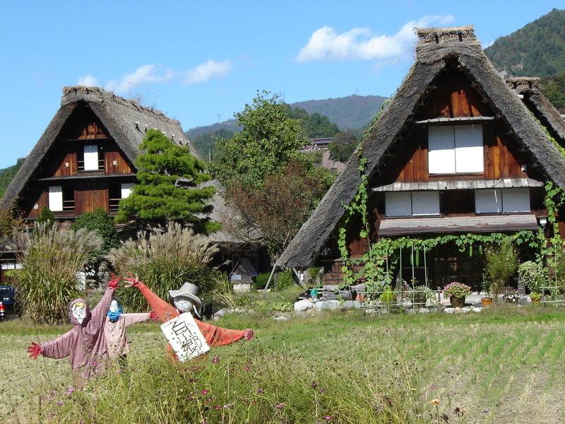 世界遺産白川郷荻町合掌集落を観光散策~紅葉を眺めながら温泉で湯ったり満喫 B