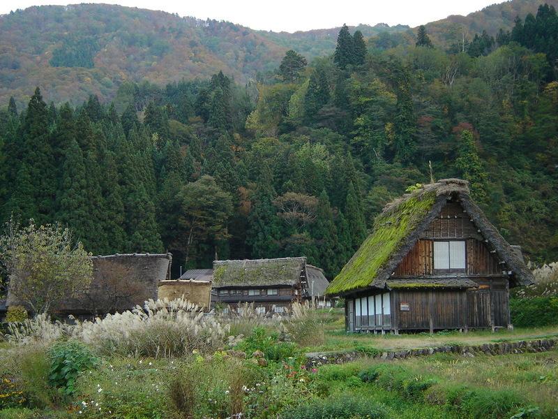 秋風が足早に駆け、朝晩はヒンヤリ~白川郷の紅葉はこの時期からがピークを迎えます~ ⑥