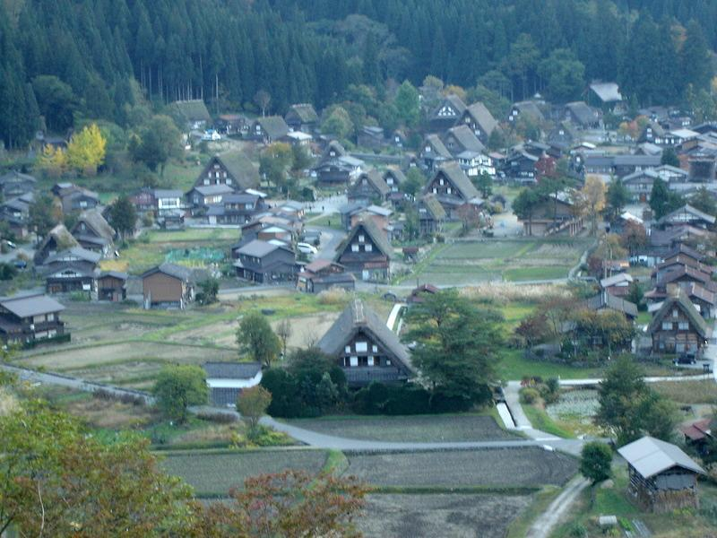 11月の3連休にお出かけ旅行(前半) 世界遺産白川郷 ②