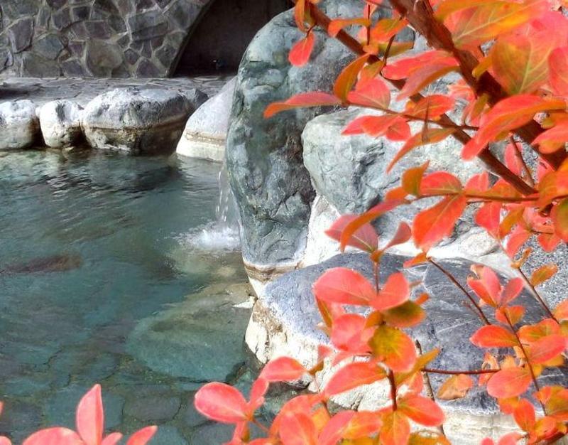 下山後は隣接する日帰り温泉施設【大白川温泉しらみずの湯】で湯ったり