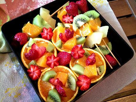 フルーツおじゅう