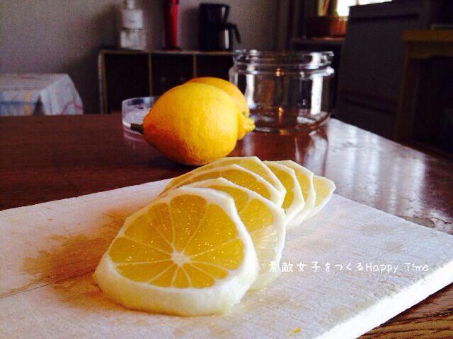 レモンシロップつくり