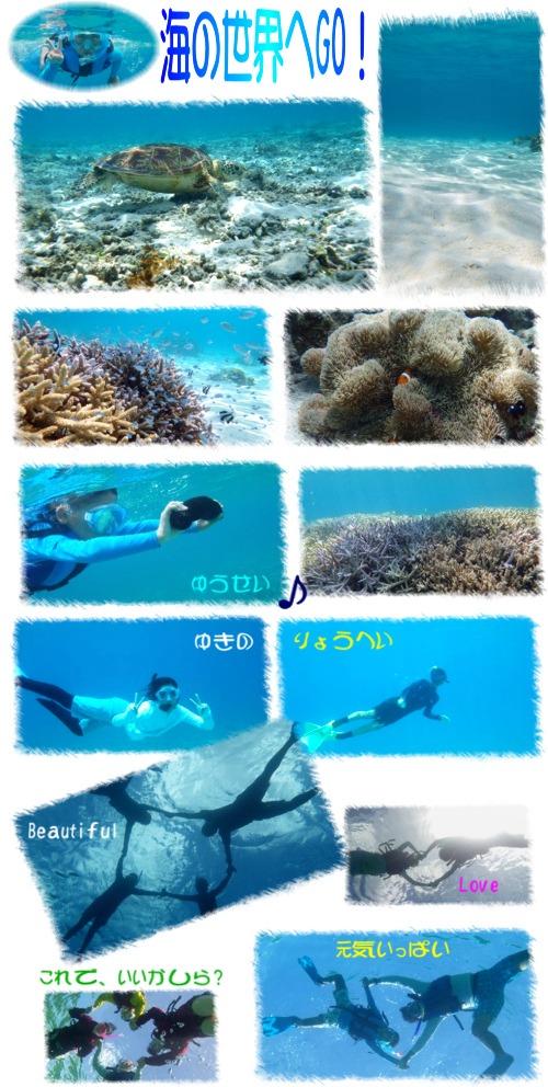 海の世界へGO!