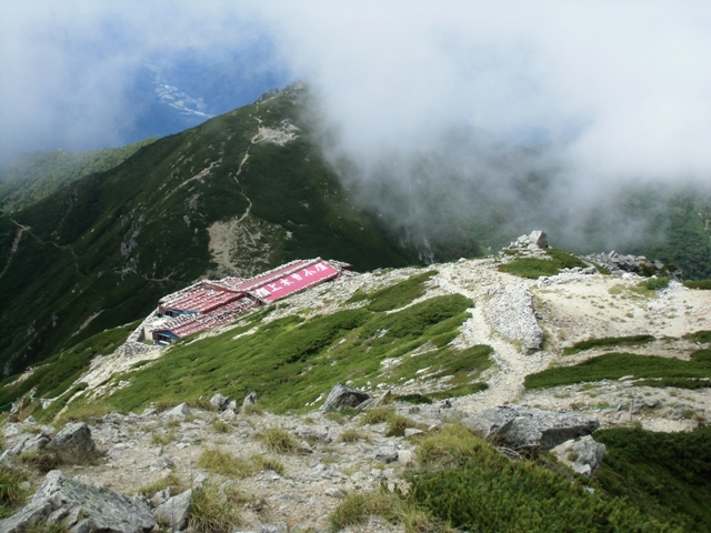 木曽山頂小屋