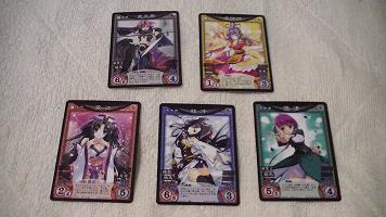 乙女遊戯 人物カード