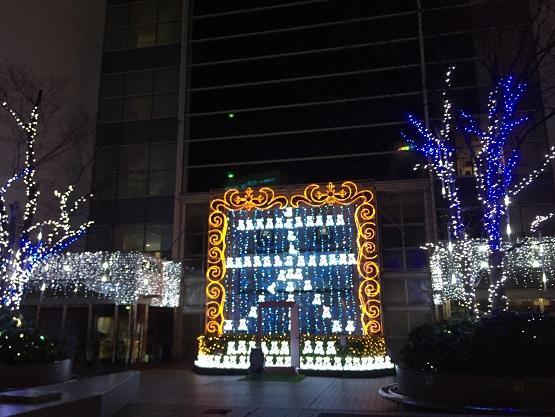 クリスマス イルミ(そごう) 2014・12月10日 (2)