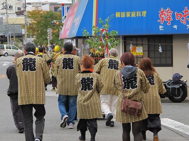 龍王神社秋祭り