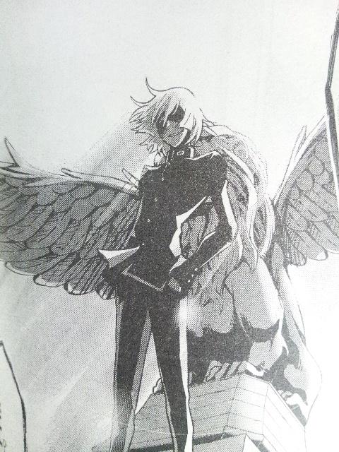 翼の生えたぬこ