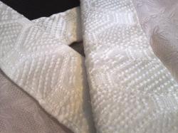 ふくれ織の半衿