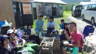 焼肉in大作農園