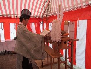 坂井市地鎮祭