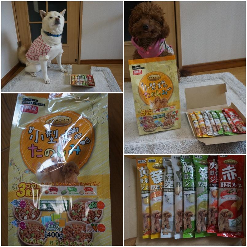 小型犬のドッグフード&スープ