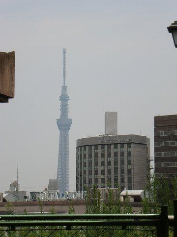 東京スカイツリー 上野公園 西郷隆盛