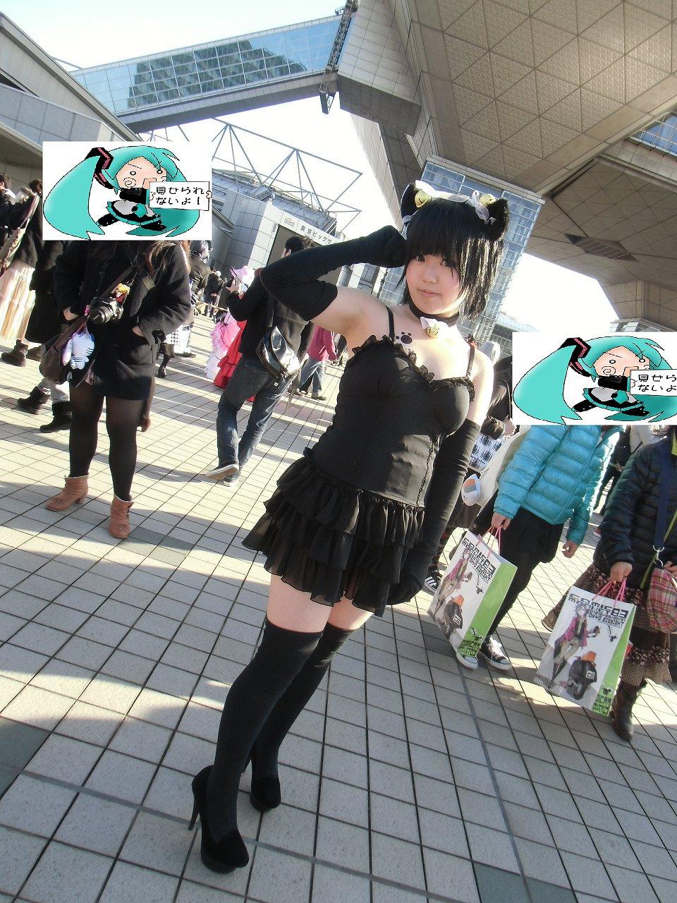 猫 コスプレ コミケ C83