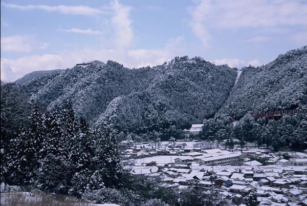 【雪景色】3 津和野盆地