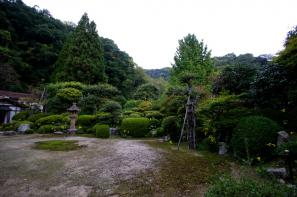 峰寺のお庭