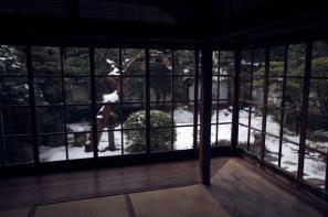 小泉八雲旧居の冬のしつらえ?