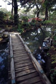 やっぱり縮景園の橋