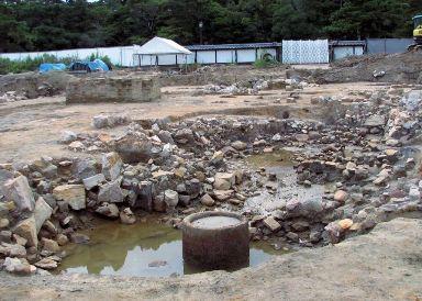 松江藩家老屋敷のお池