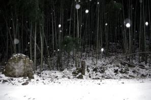 石見銀山 元清水寺跡のお庭