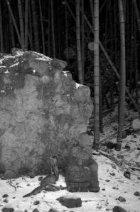 元清水寺跡のお地蔵様