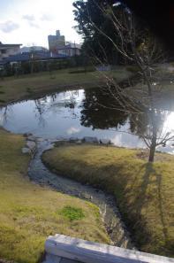 大内氏館跡のお庭