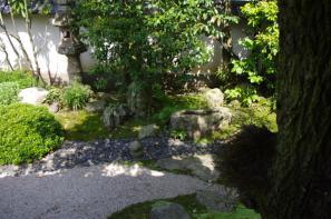 へるん旧居の南庭