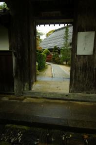 蓮乗院の門