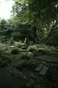 現成院跡のお庭