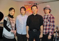 2012.11.3おくやんカルテットat Candy6