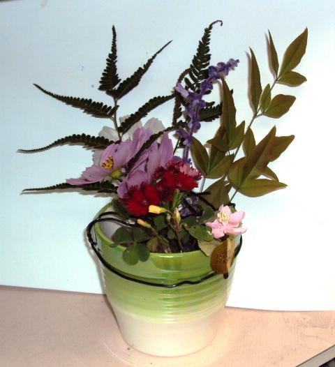 身近な生け花