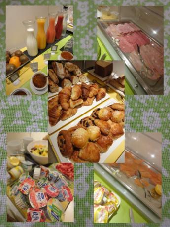 ホテルの朝食!