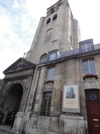 サンジェルマン・デ・プレ教会!
