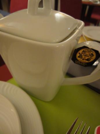 朝の紅茶!