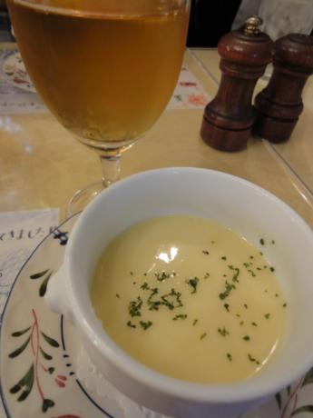 シードルとスープ!