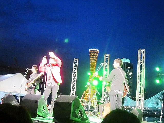 ワタナベフラワー@モザイクサンセットライブ2012♪