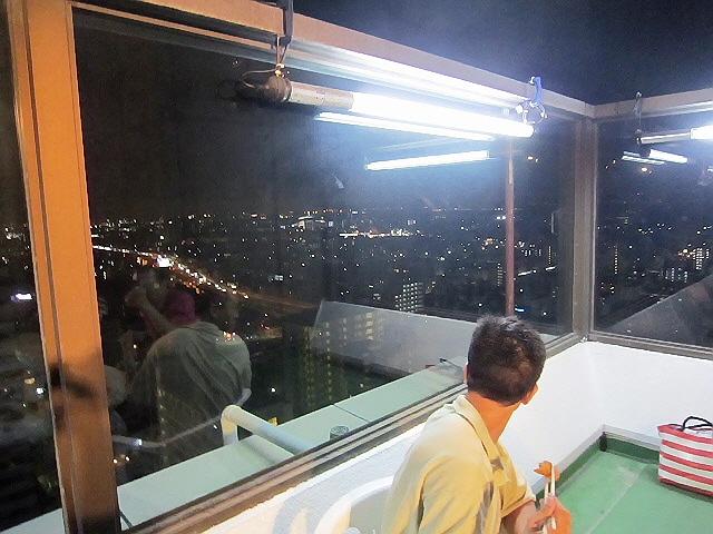 コナミ新長田ビアパーティ@大丸新長田24階屋上ビアガーデン