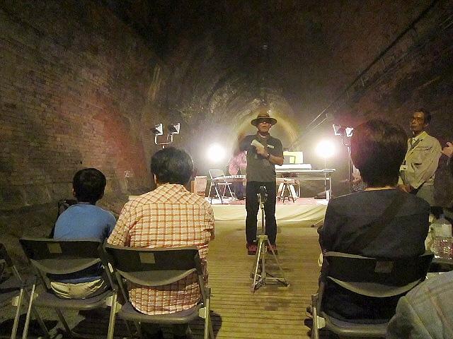 湊川トンネルコンサート 2012.8.11