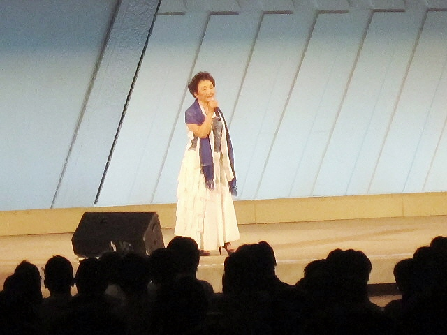 PTA京都全国大会で加藤登紀子さんを見てきました(*^_^*)