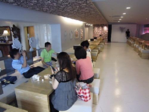 2012.9.15朝食会パン部会でマダムキキのお店に行ってきました!(^^)!