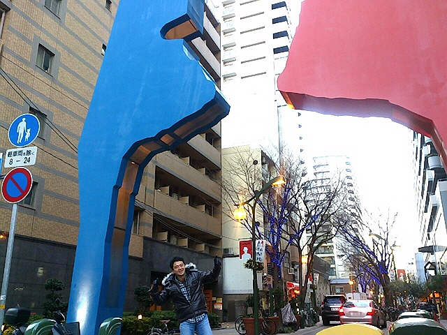 2012.12.31毎年恒例の大晦日商店街縦走。