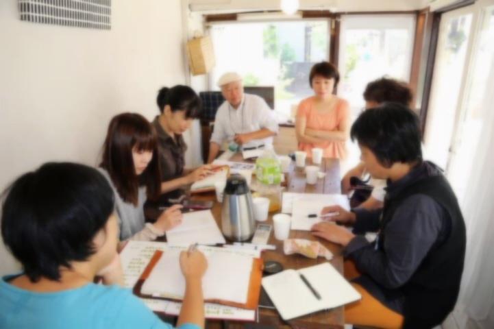 7月21日(日)ルミフラワー部室と真陽社明(社会を明るくする)座談会など。