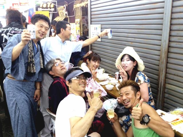 2013年8月の『丸五市場アジアン屋台』ヽ(^o^)丿