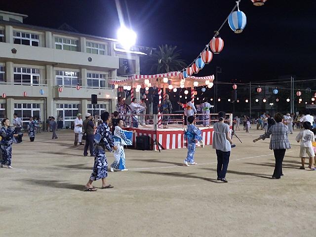 この夏の思い出♪真野盆踊りと夕暮れコンサート(^^♪