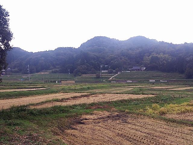 10月5日(土)の農作業。鹿柵の設置。。