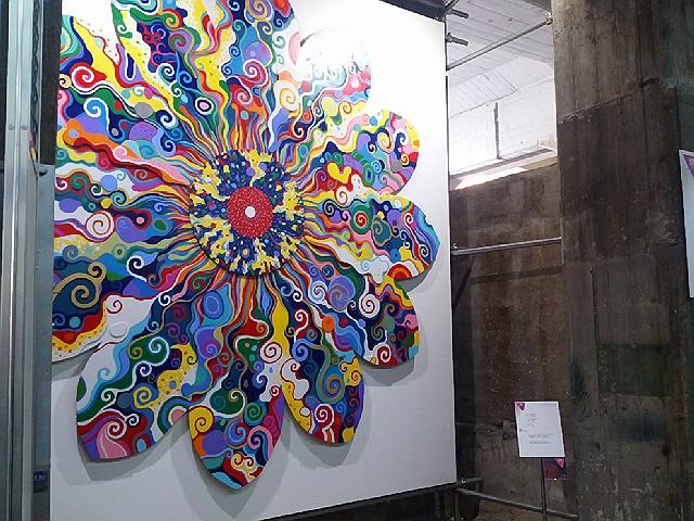 2013.10.13 ペインティングアート展@モトコーを見てきました(^^♪