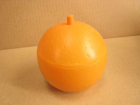 オレンジピンクッション1