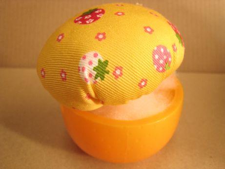 オレンジピンクッション9